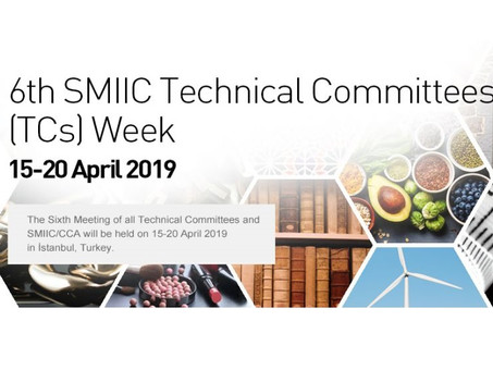 Участие в 6-неделе технических комитетов SMIIC в г. Стамбуле, Турция,