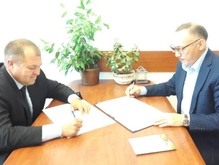 Заключены меморандумы о сотрудничестве между КазНИИППП и Научными организациями России