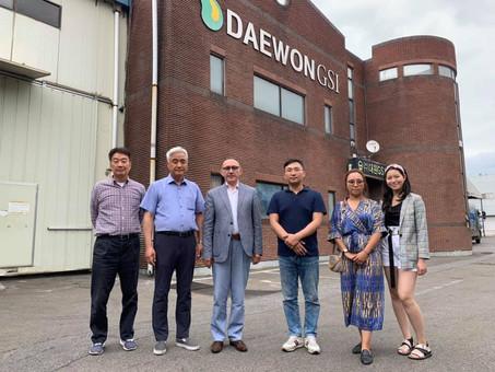 Сотрудничество с заводом по выпуску оборудования и машин для зерноперерабатывающих предприятий