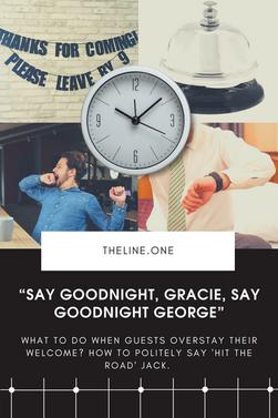 """Say Goodnight, Gracie, Say Goodnight George"""
