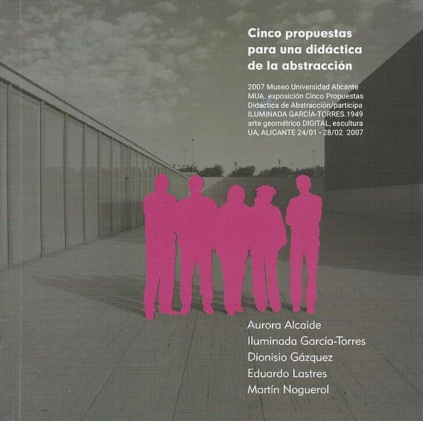 2007. Museo Universidad Alicante MUA. ex