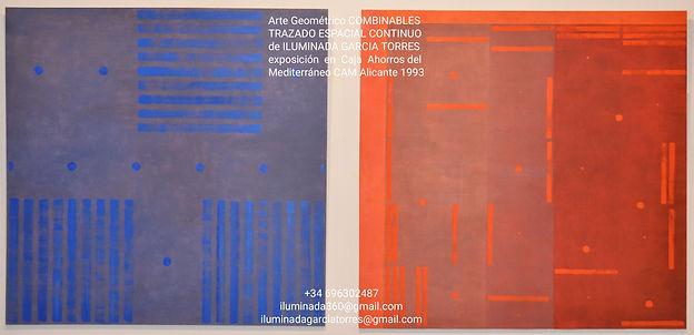 1993 exposición by ILUMINADA GARCIA TORR