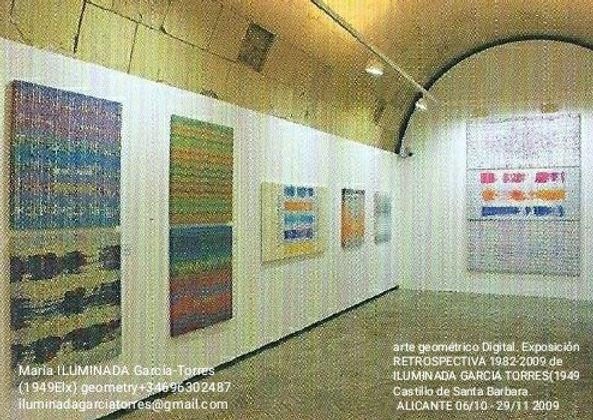 2009·Retrospectiva geometríaDigital by ILUMINADA GARCIA-TORRES(1949Elx) Castillo de Santa