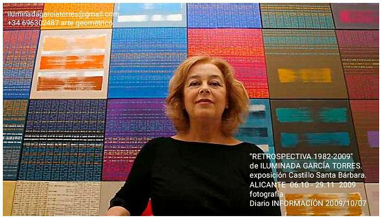 2009 RETROSPECTIVA de ILUMINADA GARCIA TORRES Castillo de Santa Bárbara Alicante 2009-.jpg