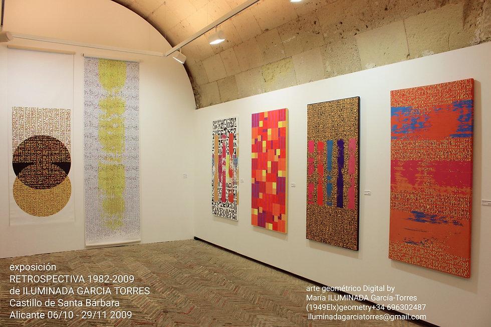 2009·digital by ILUMINADA GARCIA-TORRES catálogoExposición Retrospectiva 1982-2009, Castil