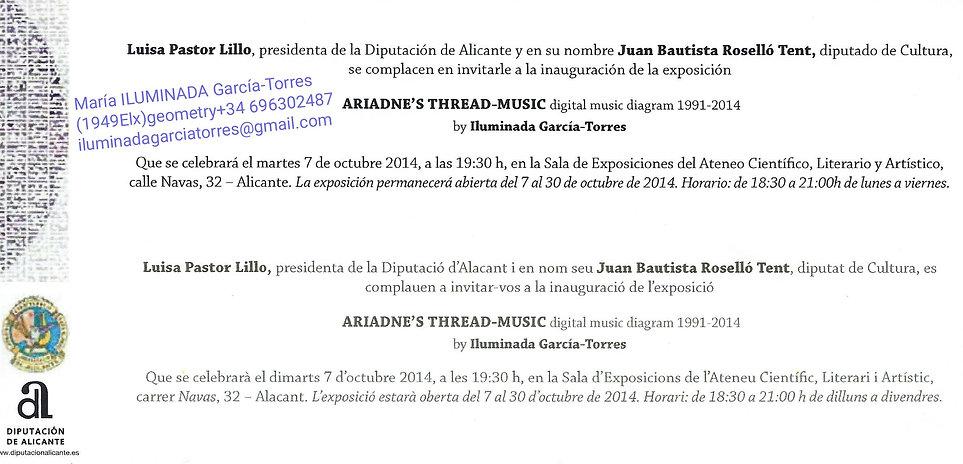 2014·ILUMINADA GARCIA-TORRES(1949Elx)·ex