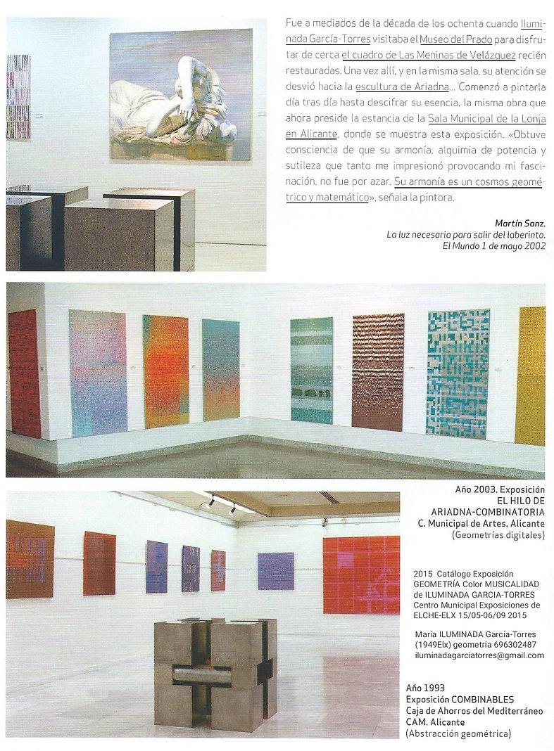 2015·CV 3 catálogo exposición Geometría