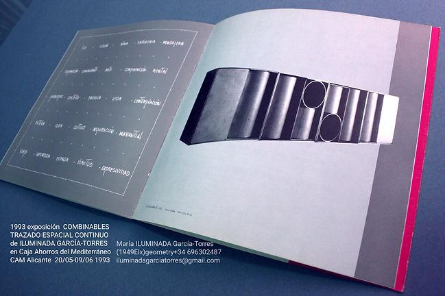 1993·catálogo COMBINABLES arte geométric