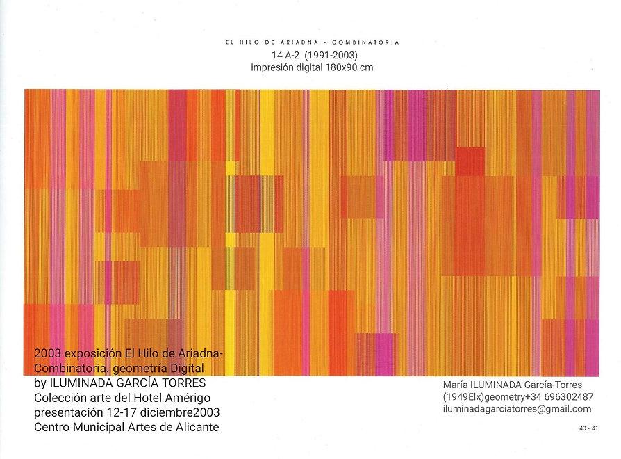 2003·El Hilo de Ariadna- Combinatoria. g