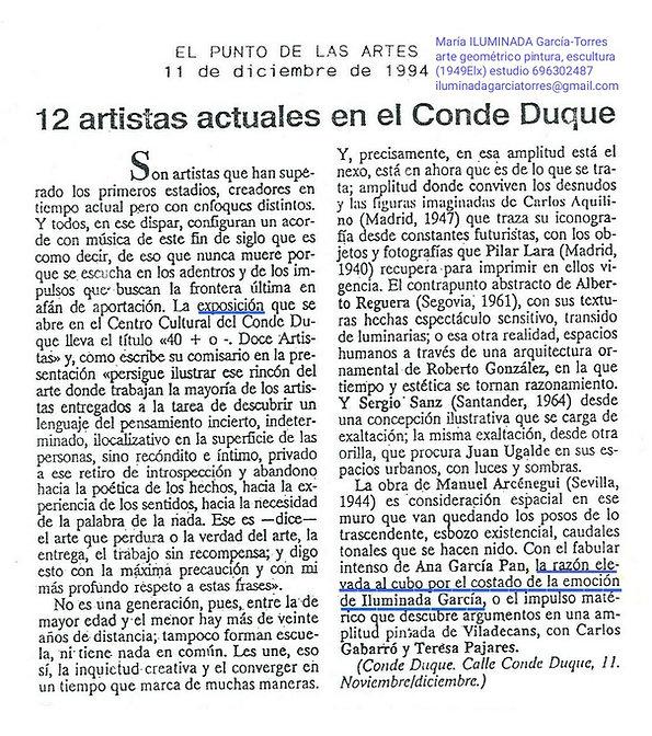 1994EL PUNTO exposición CentroCultural C