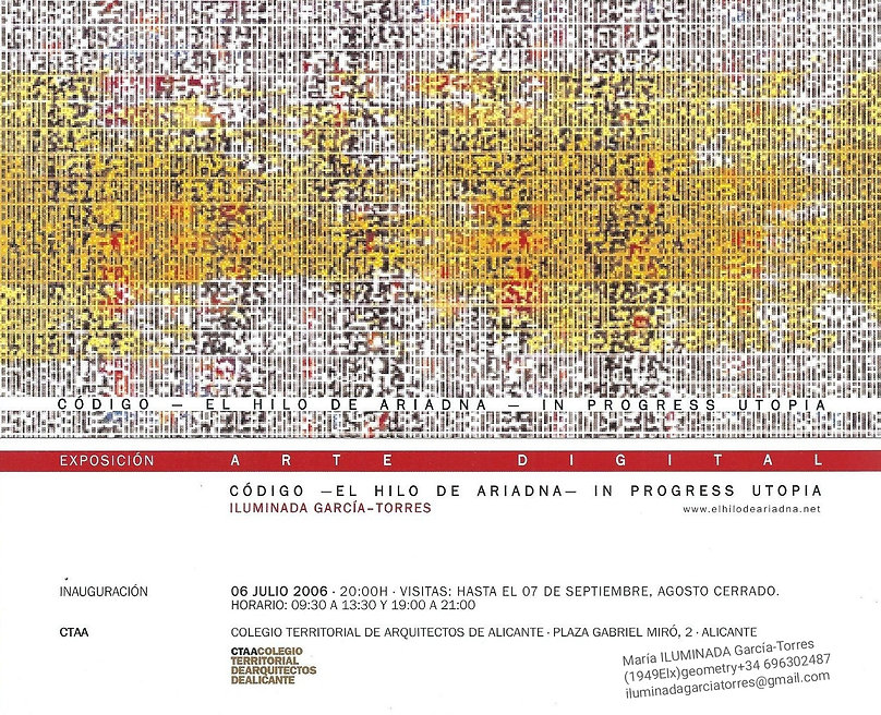 2006 CTAA arte geométrico digital by MAR