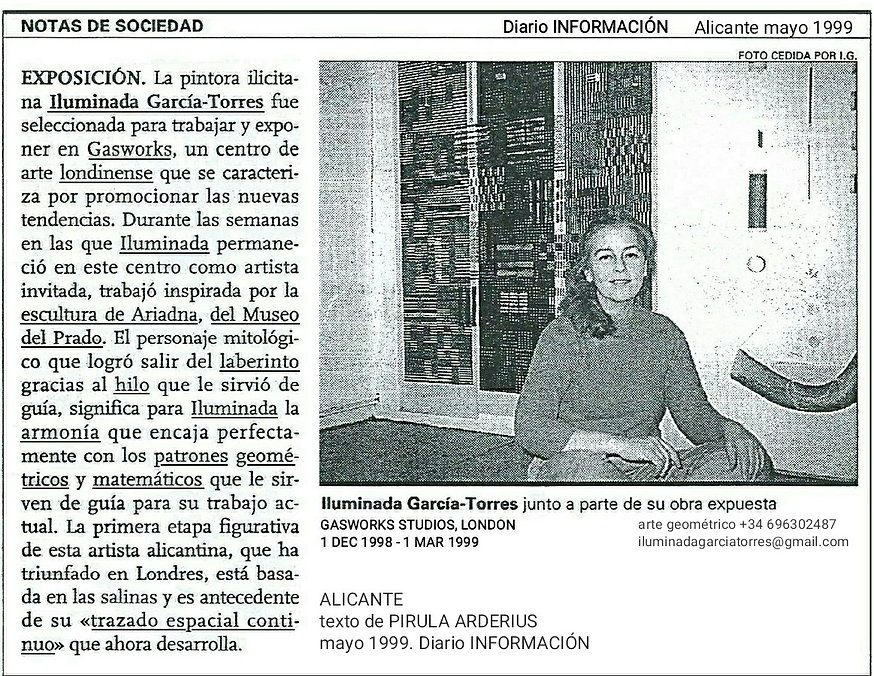 1999 Londres. Texto Pirula Arderius Diario INFORMACIÓN Alicante mayo-.jpg