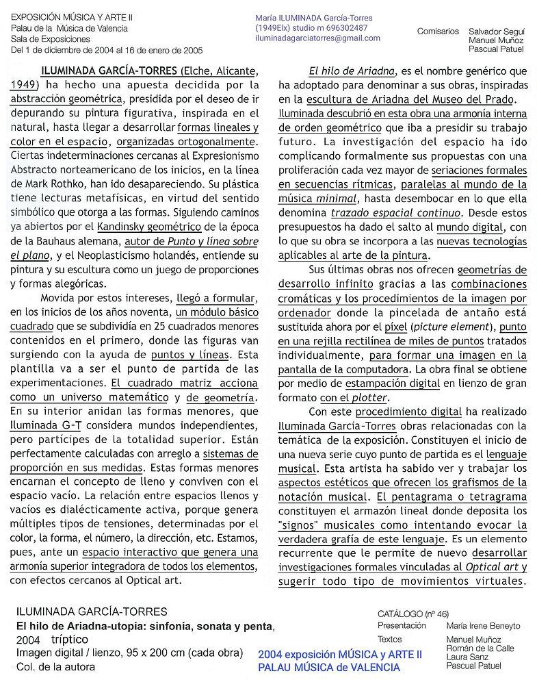 2004·text Laura SanzGarcía· Pascual Patu