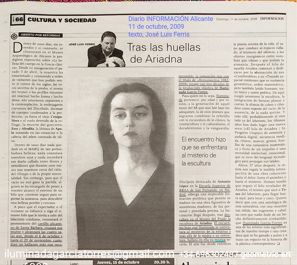 2009·texto José Luis Ferris DiarioINFORM