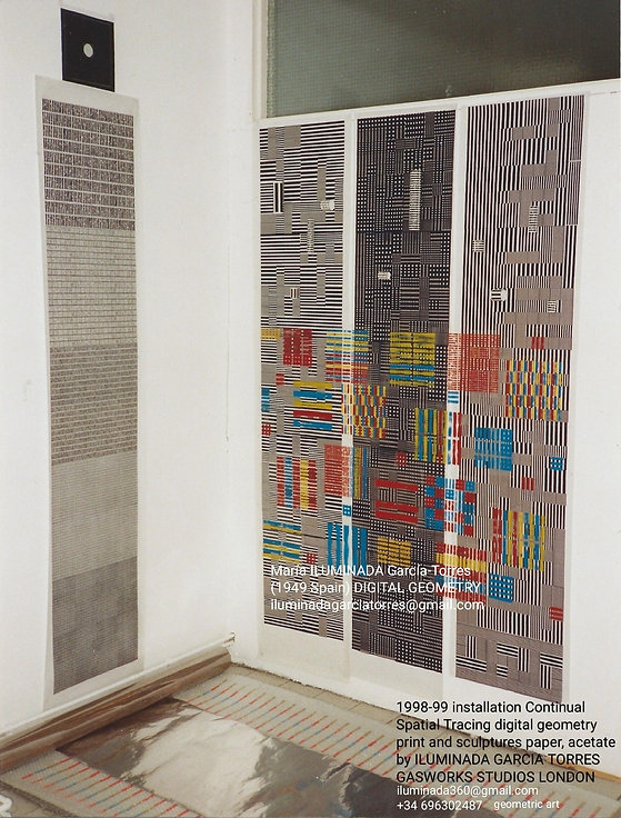 1999·digital geometry sculpture by ILUMI