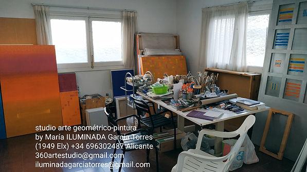 studio pintura de ILUMINADA GarciaTorres