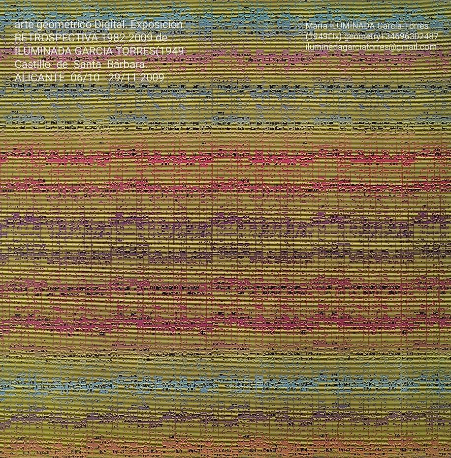 2009·exposición Retrospectiva geometríaD
