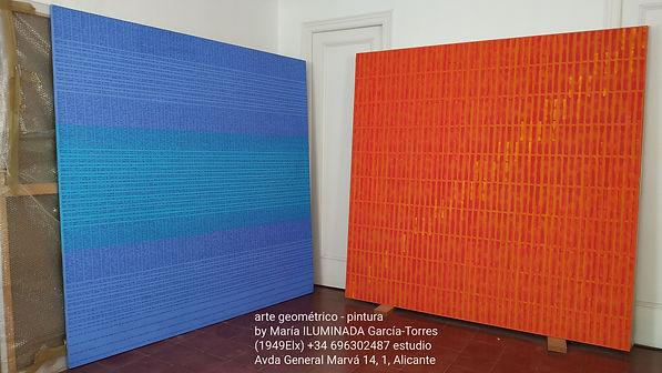 studio pintura de María ILUMINADA García