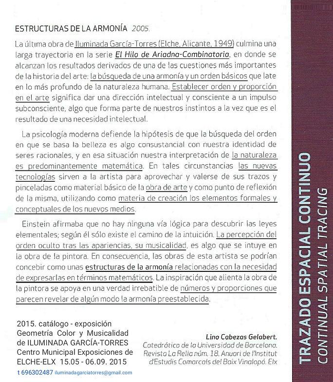 texto de Lino Cabezas Gelabert (Revista