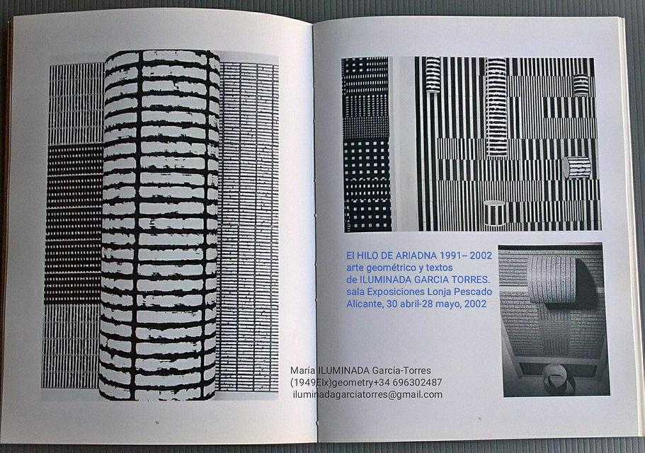 2002 catálogo exposición HILO DE ARIADNA
