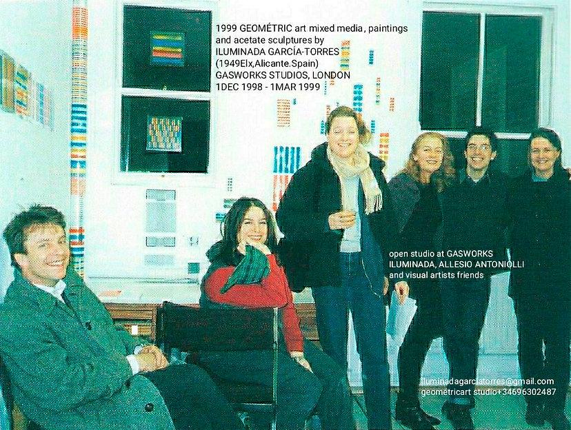 1999 Gasworks Studios London Iluminada Garcia Torres(1949Elx Spain) .jpg