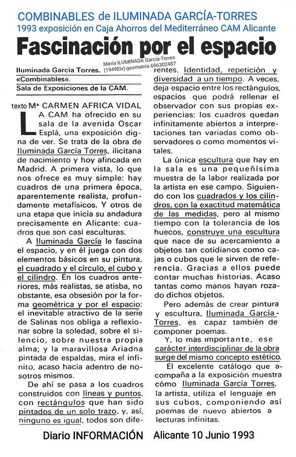 1993·texto de Mª Carmen Africa Vidal Cla