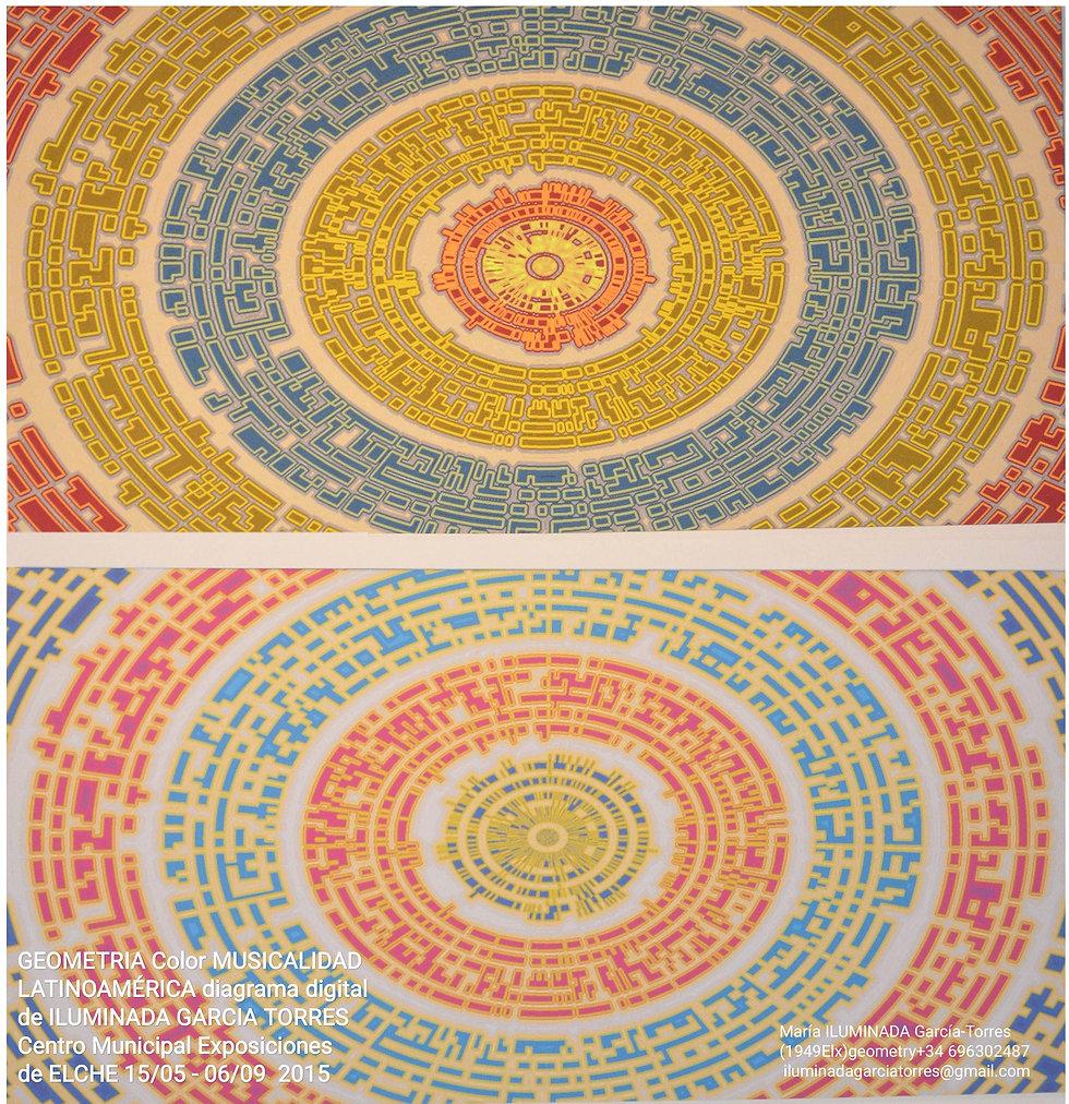 2015·exhibition Geometría Color y Musicalidad LATINOAMERICA digitalgeometry Ach 11Ach byIL
