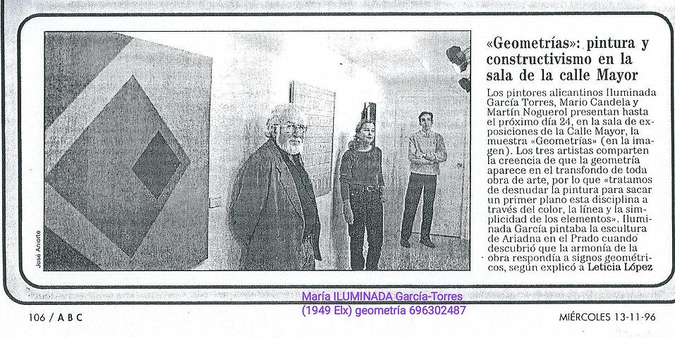 1996·exposición_GEOMETRIAS,_ILUMINADA_