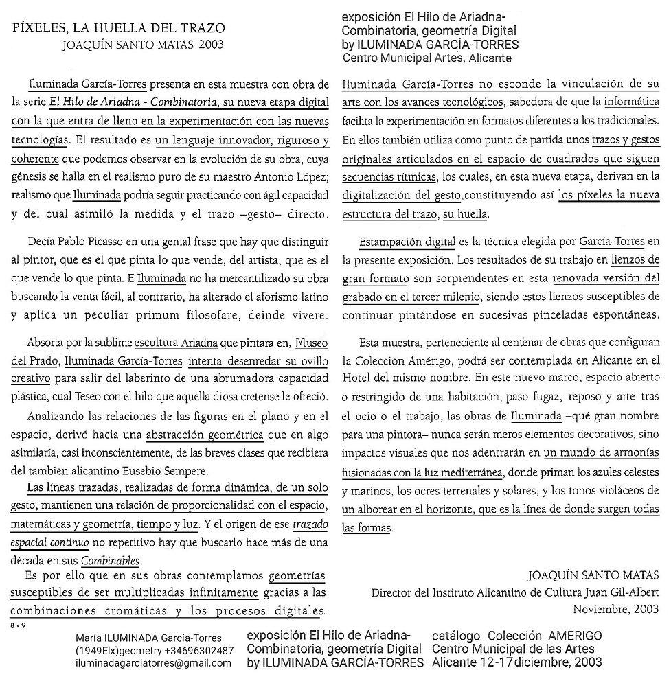 2003 PIXEL text Joaquín SantoMatas Direc