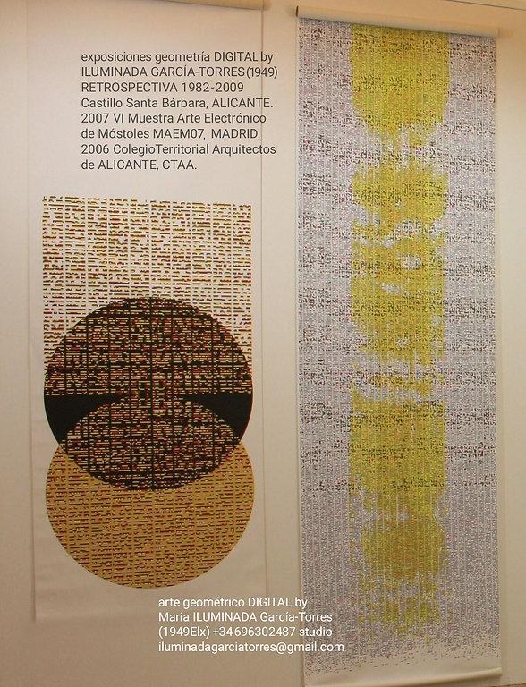 2009 exposición RETROSPECTIVA 1982-2009