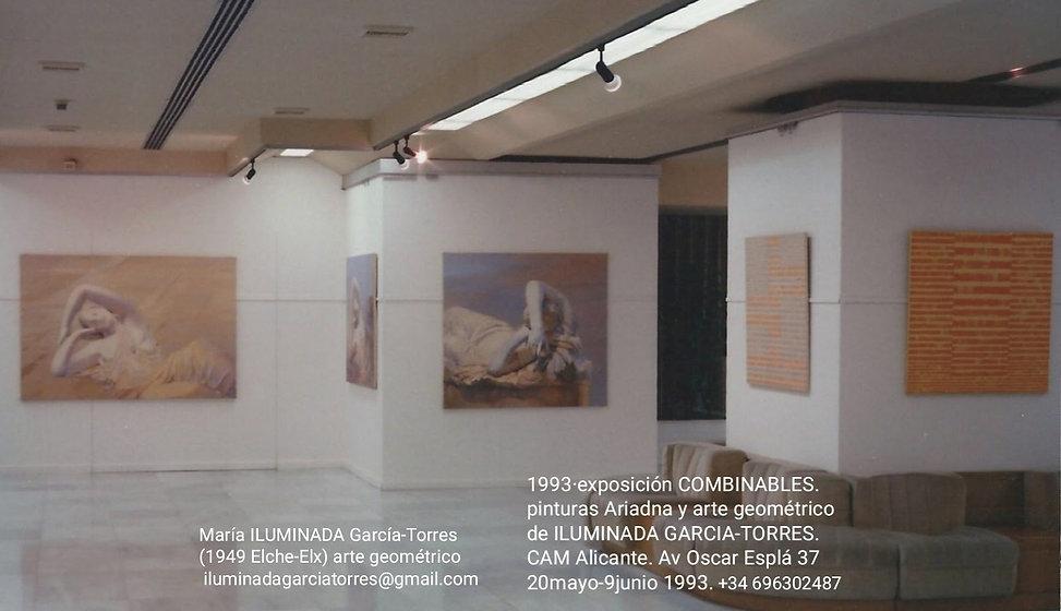 1993 exposición COMBINABLES arte geométr