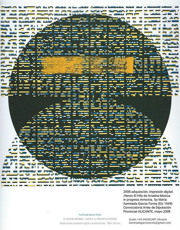 2008 Digital -lienzo by ILUMINADA GARCIA