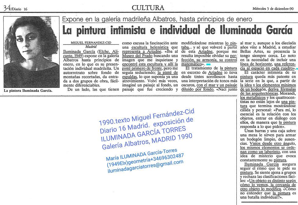 1990·Diario 16 text Miguel Fenández-Cid