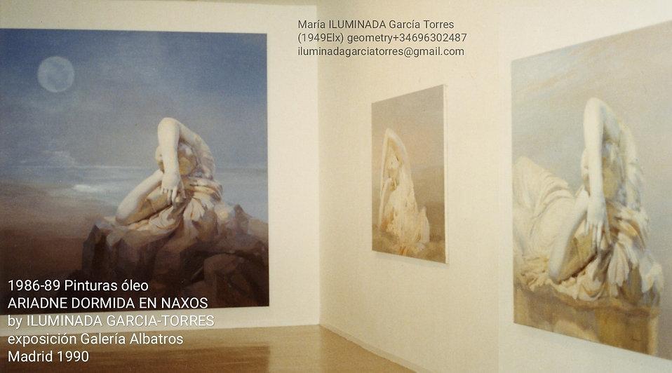 1990 exposición Galería Albatros. Madrid