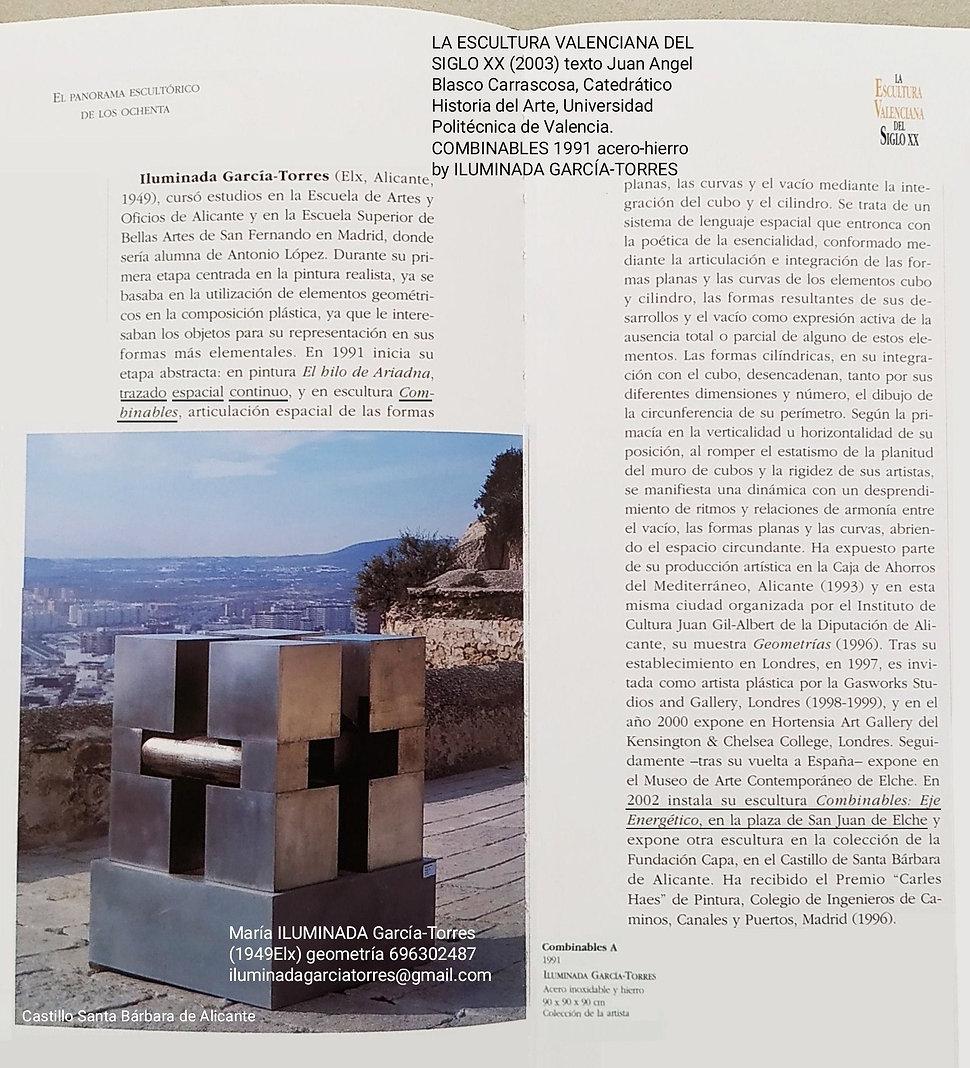 2003 La EsculturaValenciana del Siglo XX