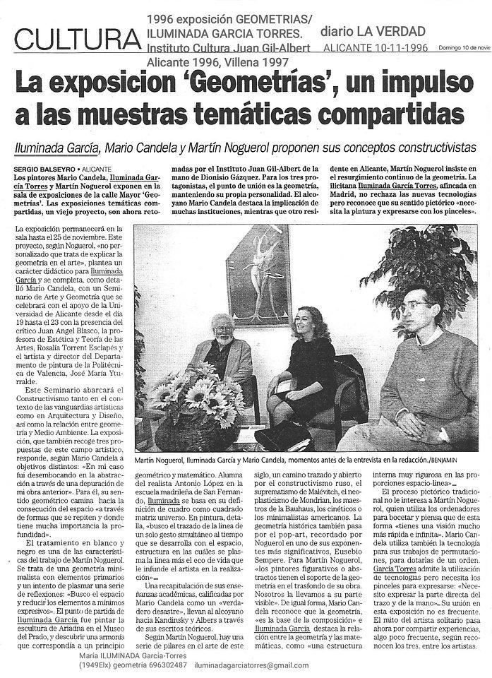 1996_exposición GEOMETRIAS_ILUMINADA_GAR