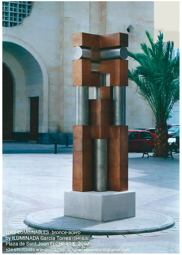 2002 COMBINABLES bronce-acero by Ilumina
