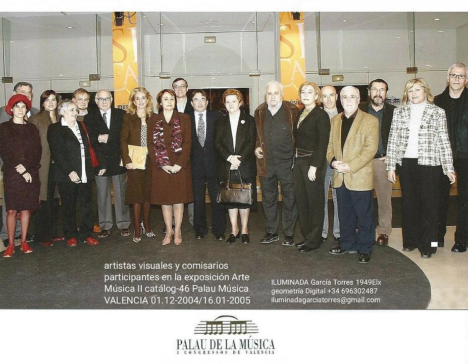 2004 catálogo 46 exposición Palau Música