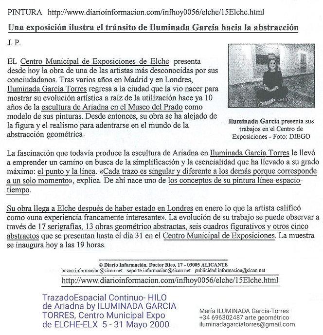 2000 diario INFORMACIÓN ELCHE. TrazadoEs
