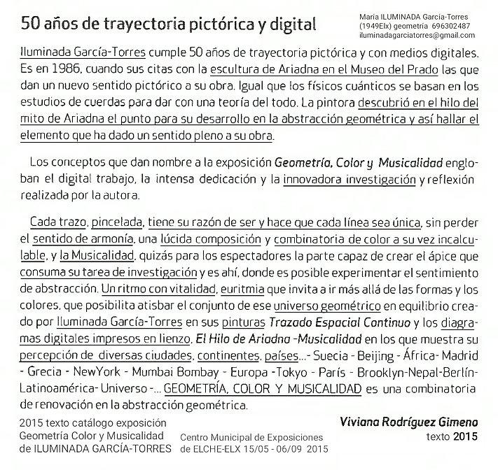 2015·texto Viviana Rodriguez Gimeno. geo