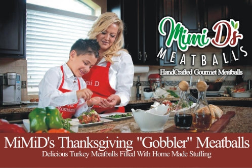 "MiMID's Thanksgiving ""Gobbler"" Meatball"