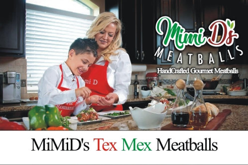 MiMiD's Tex Mex Meatballs