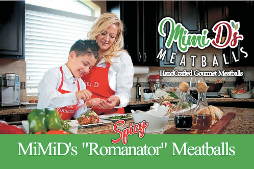 "MiMiD's Spicy ""Romanator"" Meatballs"
