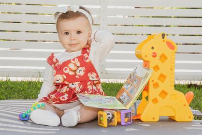 Sofia e brinquedos - - Camila Cerri Foto