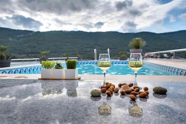 Grebastica_Holidays Roko Apartments_swim