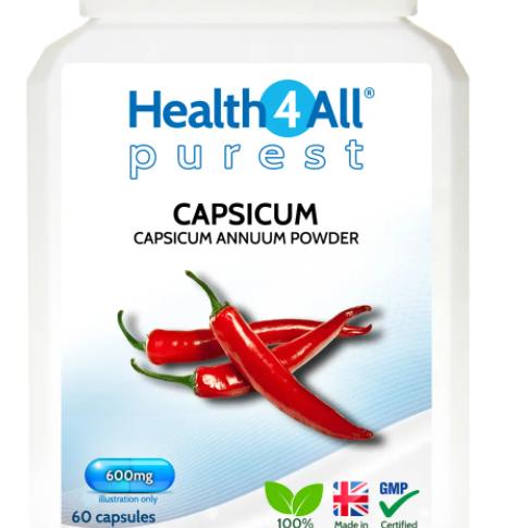 Capsicum 600mg Capsules