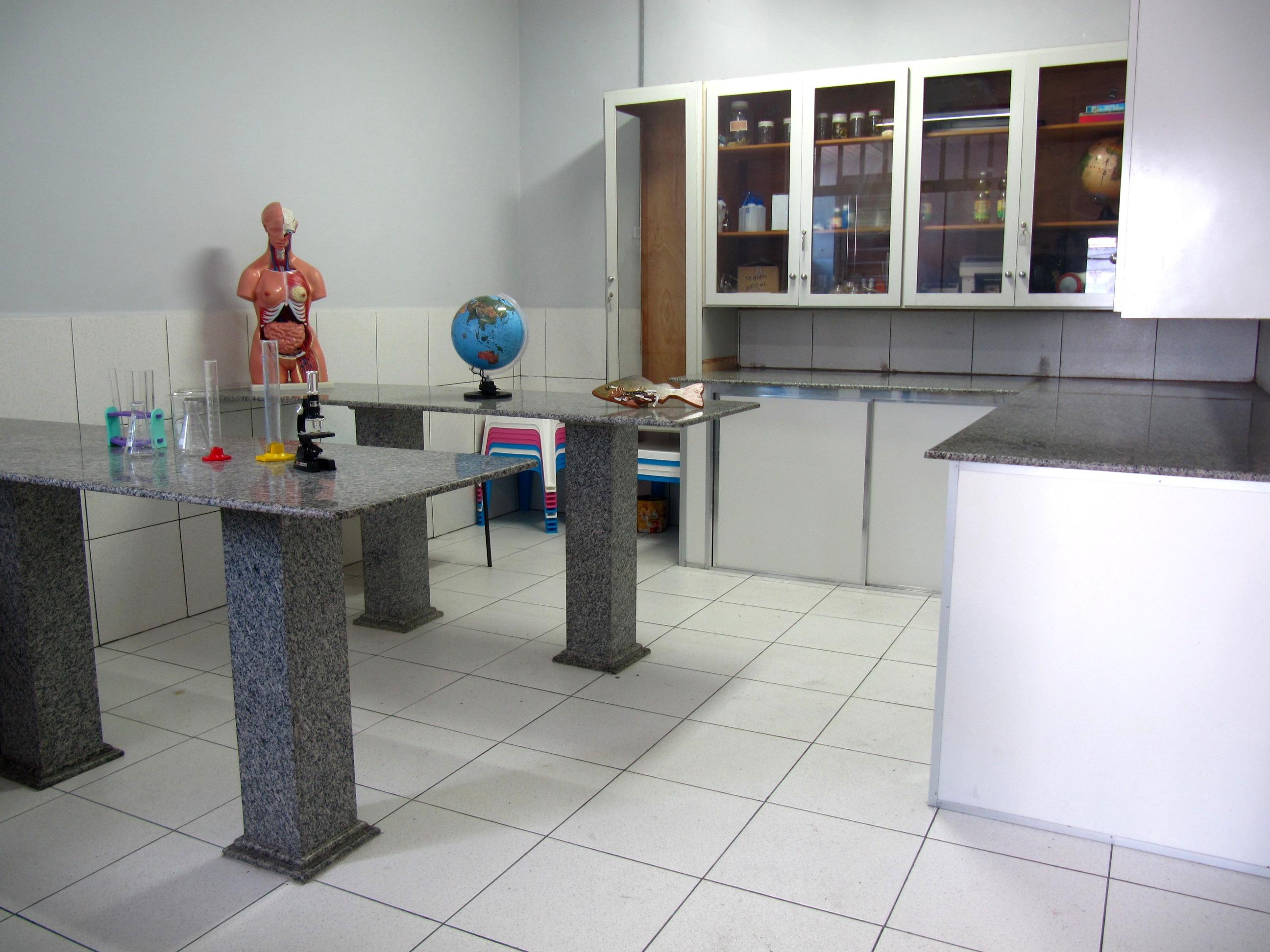Laboratório de Ciências e Química
