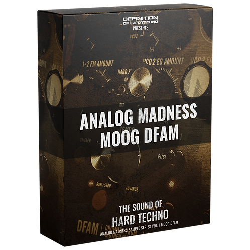 TLM AM #1 - ANALOG MADNESS VOL. 1 MOOG DFAM