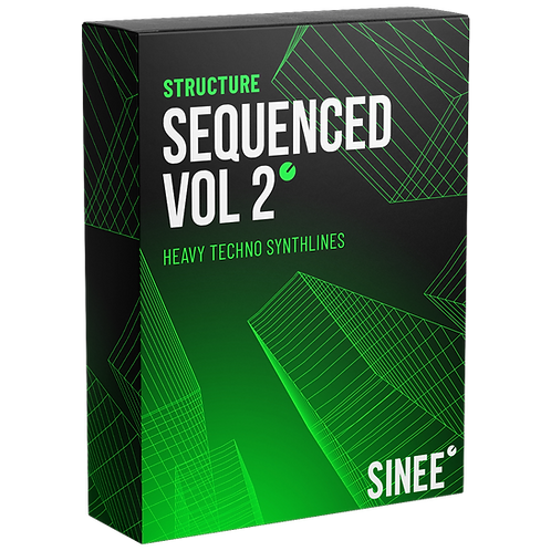 STRUCTURE AUDIO - HEAVY TECHNO SYNTHLINES SEQUENCED VOL.2