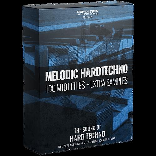 TLM MIDI #1 - MELODIC HARDTECHNO MIDI PACK + WAV SAMPLES